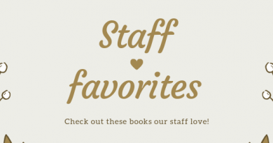 Lists of Staff's favorites books