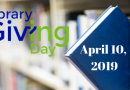 Library Giving Day – Thanks!
