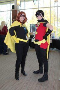 Bat Girl and Robin