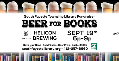 Beer for Books Banner