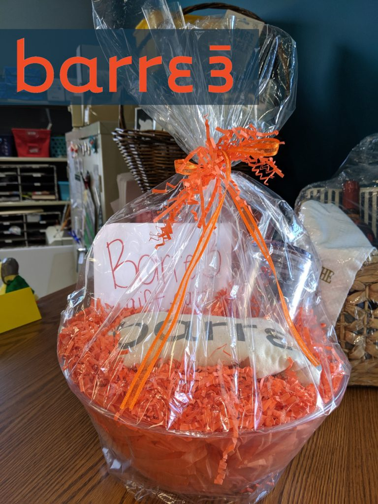 Donated by Barre3