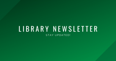Library Newsletter Header