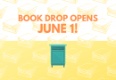 Library book drop opens June 1