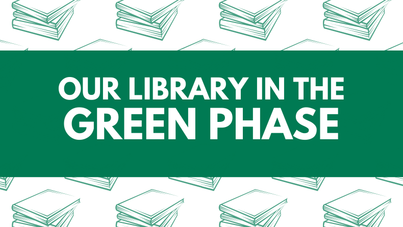 """""""Our Library in the Green Phase"""" Graphic"""