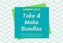 Take & Make Bundles: Program kits including STEM, Crafts & Self-Care