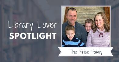 Library Lover Spotlight – The Price Family