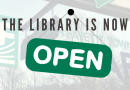 The Library is now open