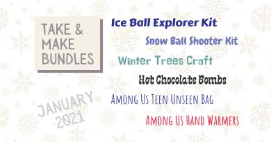 January Take & Make Bundles: Program Kits
