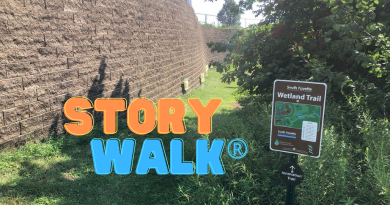 Library and South Fayette School District Collaborate on StoryWalk®